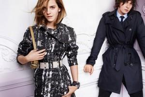 Emma Watson feat. Burberry