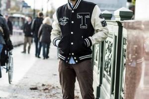 Hilfiger Denim Varsity Street Style 2013 в Берлине