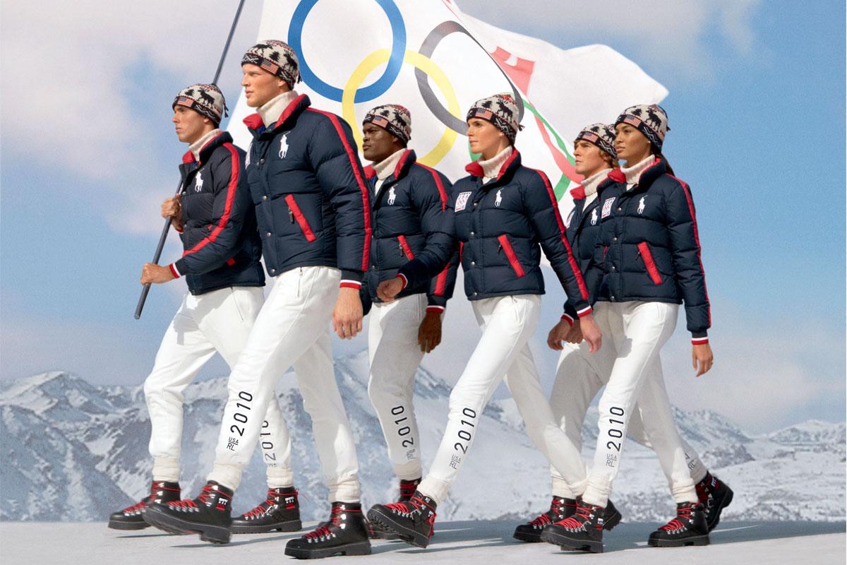 Олимпийская коллекция одежды от Ralph Lauren