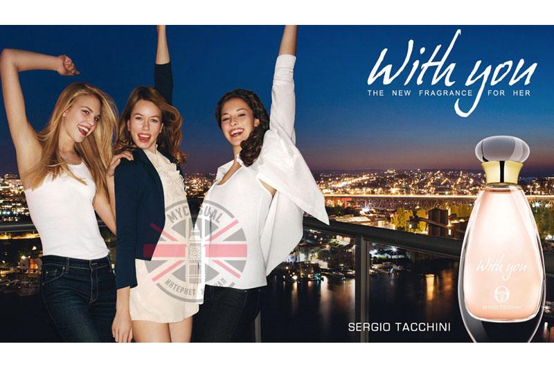 With You — новый аромат от Sergio Tacchini