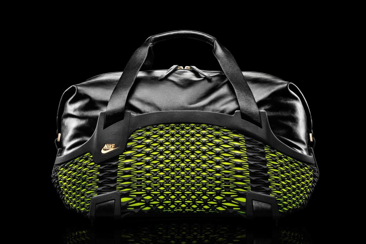 Nike напечатала на 3D-принтере футбольную сумку