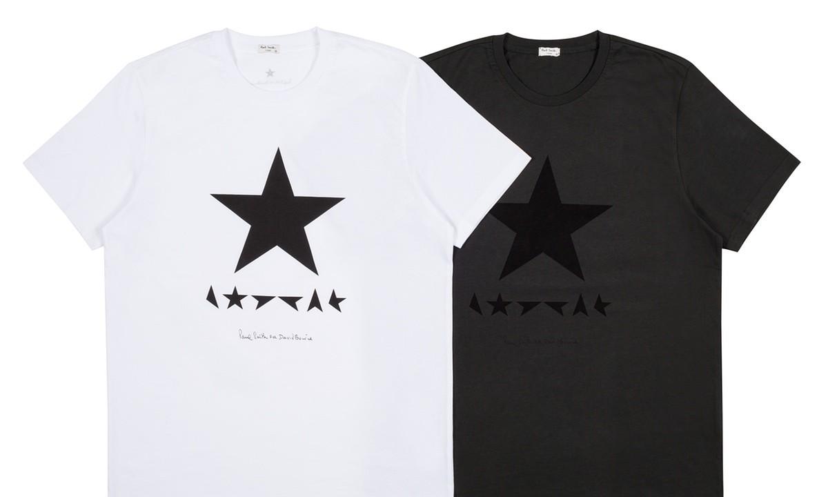 Paul Smith выпустил футболки в честь нового альбома Дэвида Боуи