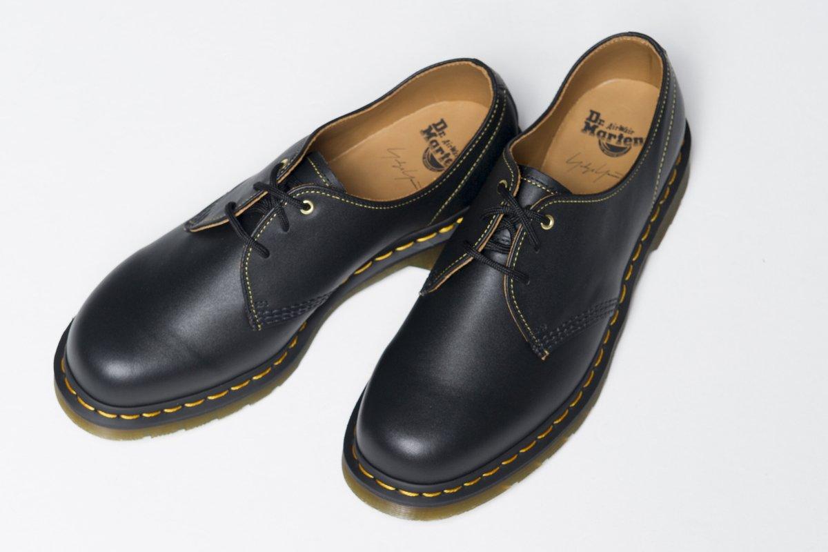 Yohji Yamamoto и Dr. Martens выпустили новые ботинки