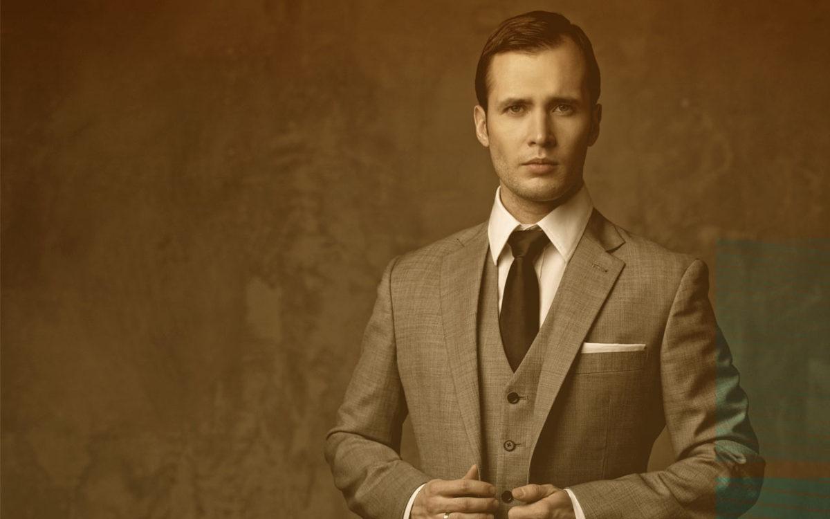 Мужская мода — стиль винтаж