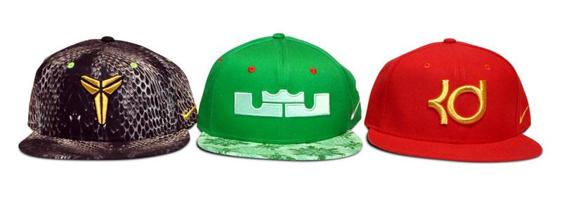 Новая коллекция 2014 года баскетбольных кепок от Nike