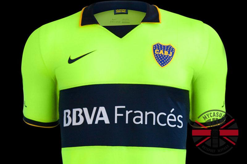 Третья официальная футболка Бока Хуниорс от Nike