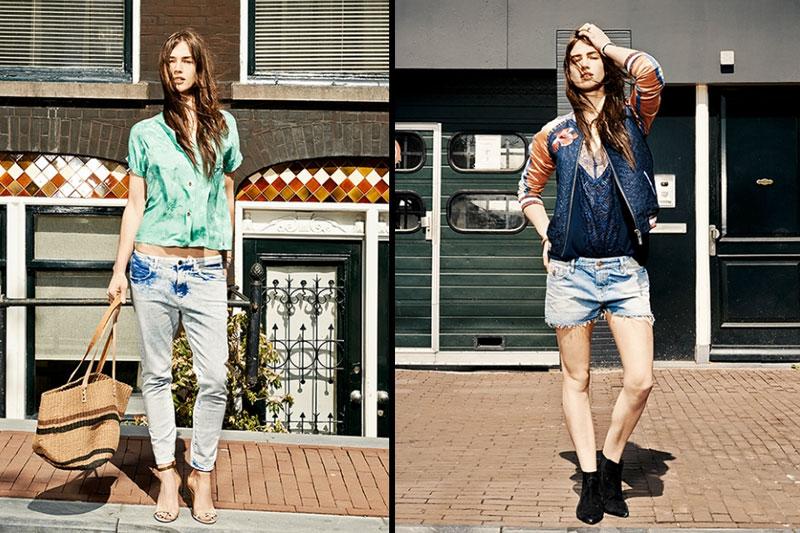 Новая джинсовая коллекция «Maison Scotch Amsterdams Blauw» от Scotch & Soda