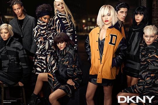 Рита Ора представила новые творения DKNY